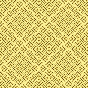 Wicker Weave Yellow