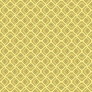 Wicker Weave Yellow