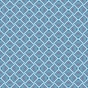 Wicker Weave Blue