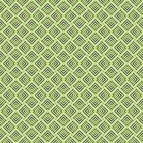 Wicker Weave Green