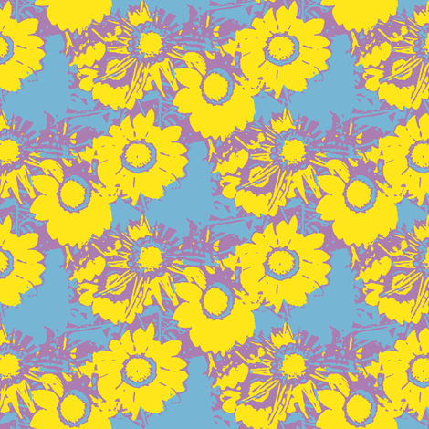 Starburst Print fabric by nalo_hopkinson on Spoonflower - custom fabric