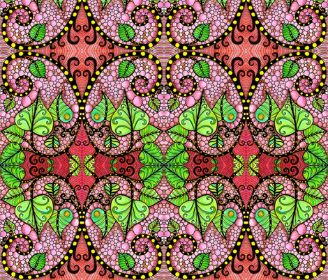 birth fabric by chelmers on Spoonflower - custom fabric