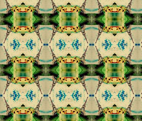 eiffel_tower fabric by leah* on Spoonflower - custom fabric