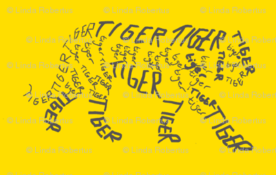 Tiger Calligram