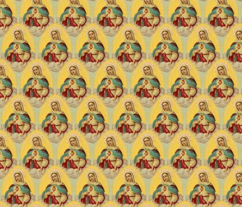 Mary fabric by lord-orlando on Spoonflower - custom fabric