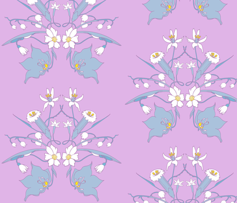 Summer Flowers fabric by jadegordon on Spoonflower - custom fabric