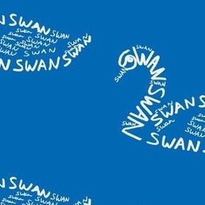 Swan Calligram