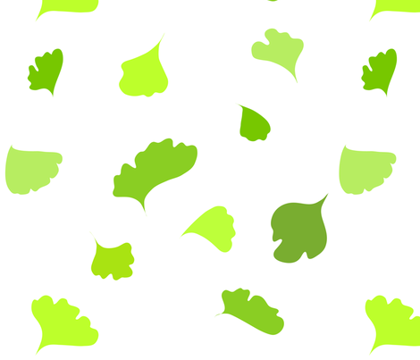 fern fabric by ma0 on Spoonflower - custom fabric