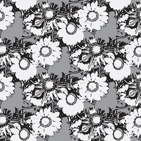Starburst Print Desaturated fabric by nalo_hopkinson on Spoonflower - custom fabric