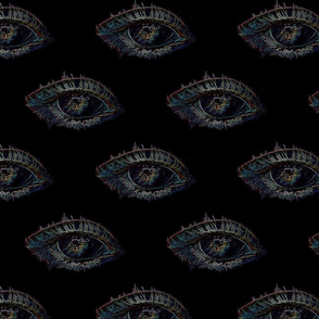 eye spy black_fabric