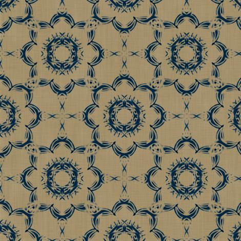 Inky Floral fabric by kristopherk on Spoonflower - custom fabric
