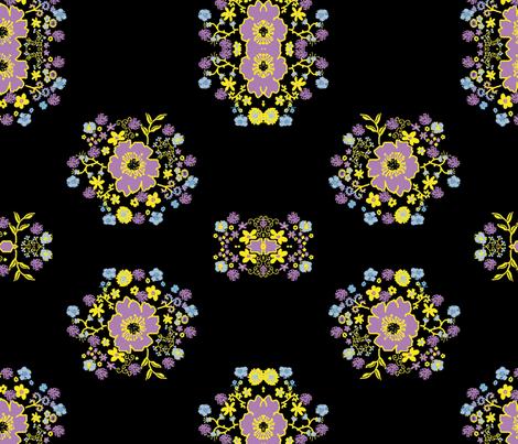 slflower-ch-ch fabric by rokinronda on Spoonflower - custom fabric