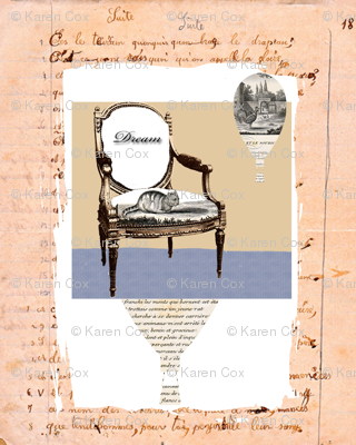 French Homework Dreams Chair