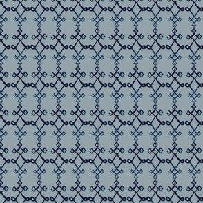 cestlaviv_mystical knot [blue on gray]