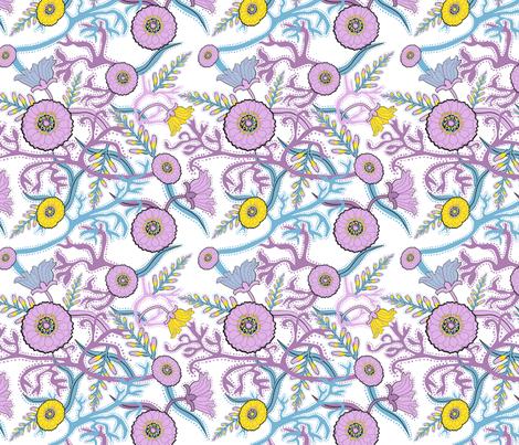 Summer Garden fabric by vinpauld on Spoonflower - custom fabric
