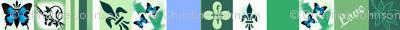 Lacey  Stripe - Mothers Garden