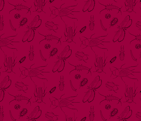 I have the jitters R13T28 fabric by victorialasher on Spoonflower - custom fabric