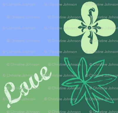 Clover leaf love - Mothers Garden