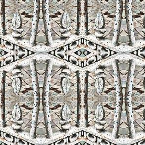 fence post kaleidoscope