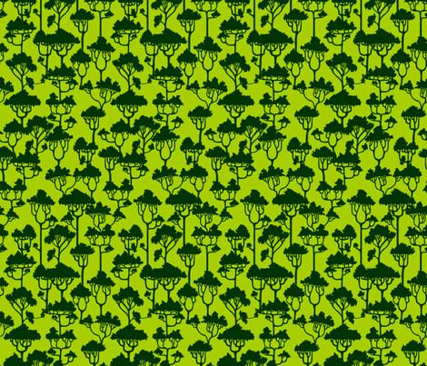 Forest 2 fabric by jadegordon on Spoonflower - custom fabric