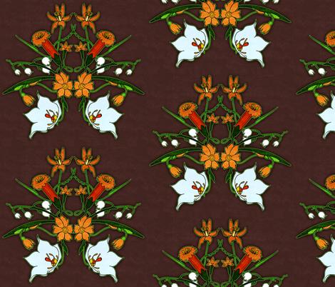 Summer Flowers 2 fabric by jadegordon on Spoonflower - custom fabric