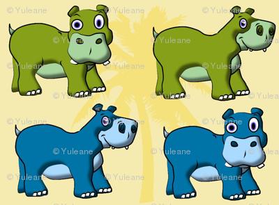 Little Hippos