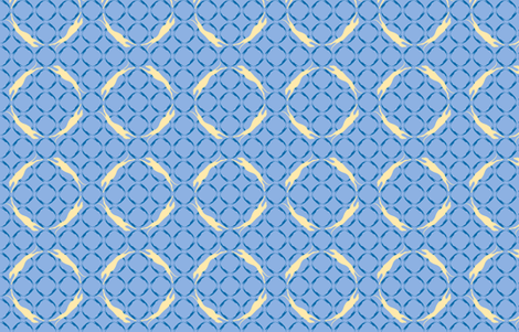 Blue Greyhounds GG6s ©2010 by Jane Walker fabric by artbyjanewalker on Spoonflower - custom fabric