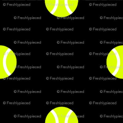 Tennis Ball Dot Black