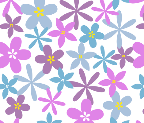 SFcontest_flower fabric by three_kisses_studio on Spoonflower - custom fabric