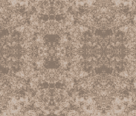 Lichen in Dark Brown © 2010 Gingezel Inc. fabric by gingezel on Spoonflower - custom fabric