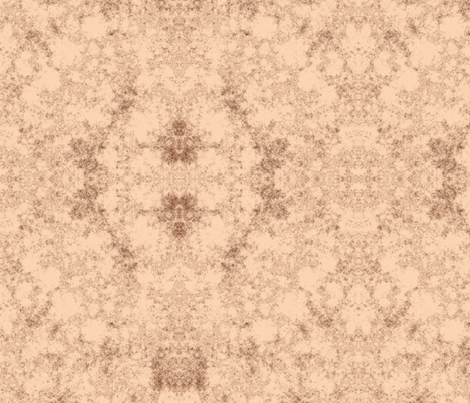 Lichen in Terracotta © 2010 Gingezel Inc. fabric by gingezel on Spoonflower - custom fabric