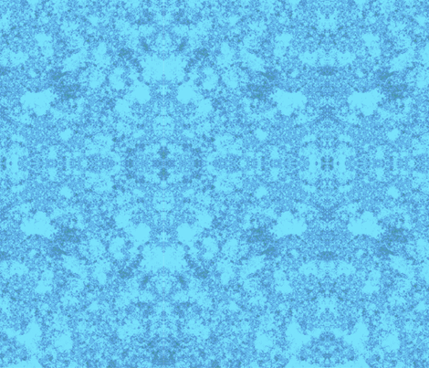 Lichen in Blue © 2010 Gingezel™ Inc. fabric by gingezel on Spoonflower - custom fabric