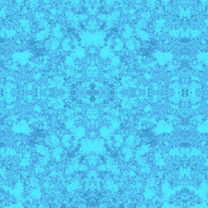Lichen in Blue © 2010 Gingezel™ Inc.