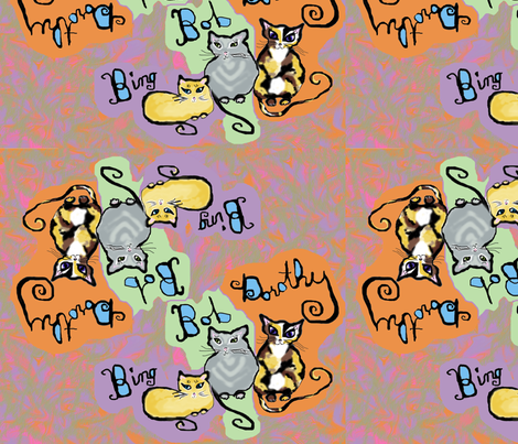 BBD fabric by auntiecats on Spoonflower - custom fabric