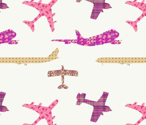 Rbeige_peach_planes_fat_quarter_shop_preview