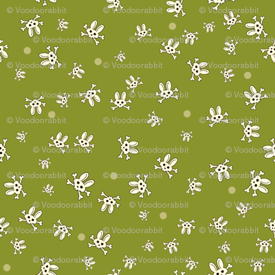 Bunny Goth Scatter Green