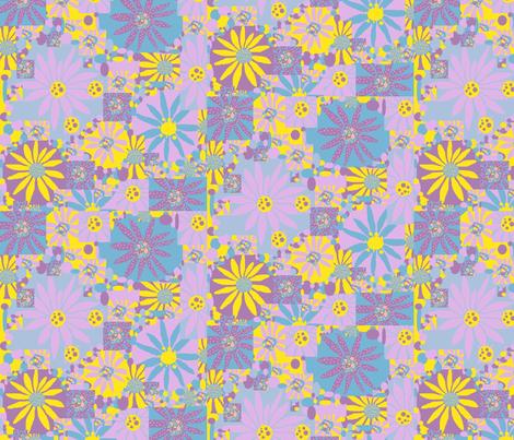 JamJax_Flowerette fabric by jamjax on Spoonflower - custom fabric