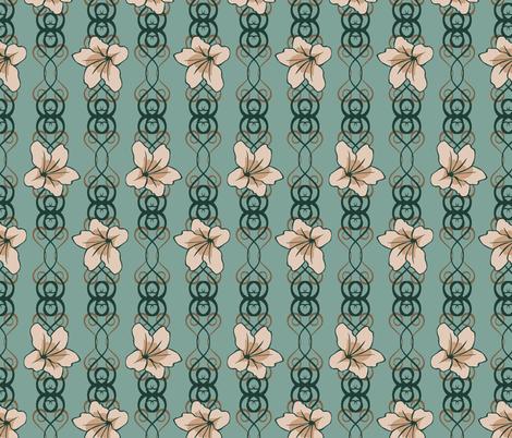 floralscroll3 fabric by artbybaha on Spoonflower - custom fabric