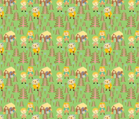 Hansel and Greet fabric by heidikenney on Spoonflower - custom fabric