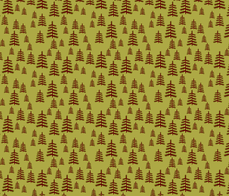 forest fabric by heidikenney on Spoonflower - custom fabric