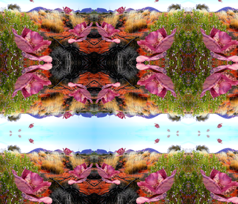Desert Breeze fabric by sandra_darling on Spoonflower - custom fabric