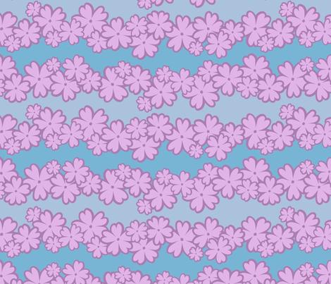 Flocking Flocks fabric by sew-me-a-garden on Spoonflower - custom fabric