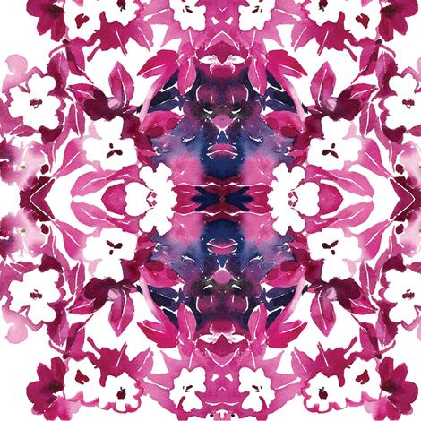 C'EST LA VIV™ In•a•Gadda•da•Vida Collection_MORNING WHITE  fabric by cest_la_viv on Spoonflower - custom fabric