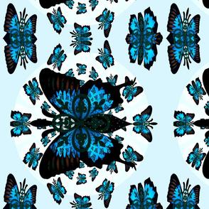 Fleur-de-lis butterfly  Mothers Garden-ed