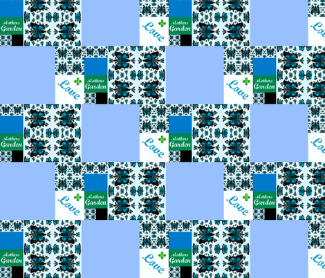 Mothers Garden Quilt patch fabric by paragonstudios on Spoonflower - custom fabric