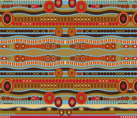 Desert fabric by julievfoster on Spoonflower - custom fabric