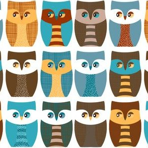 "2"" owls, owls, and more owls"