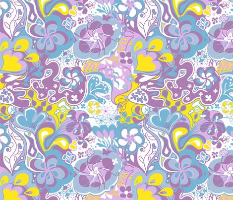 flowerpower_ll fabric by luana_life on Spoonflower - custom fabric