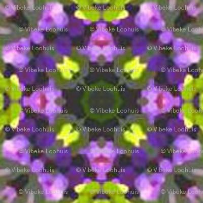 Yellow & purple tiles