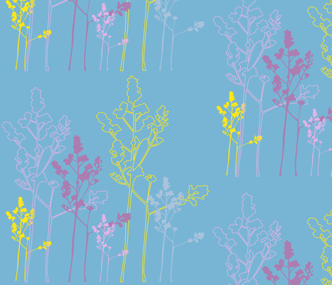 MEADOW_FLOWERS fabric by surfacerender on Spoonflower - custom fabric